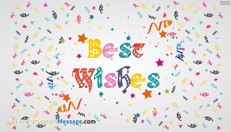 Best Wishes Image For Exam - Congratulation Message for Exam