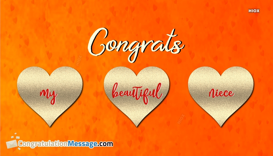 congratulations quotes for niece
