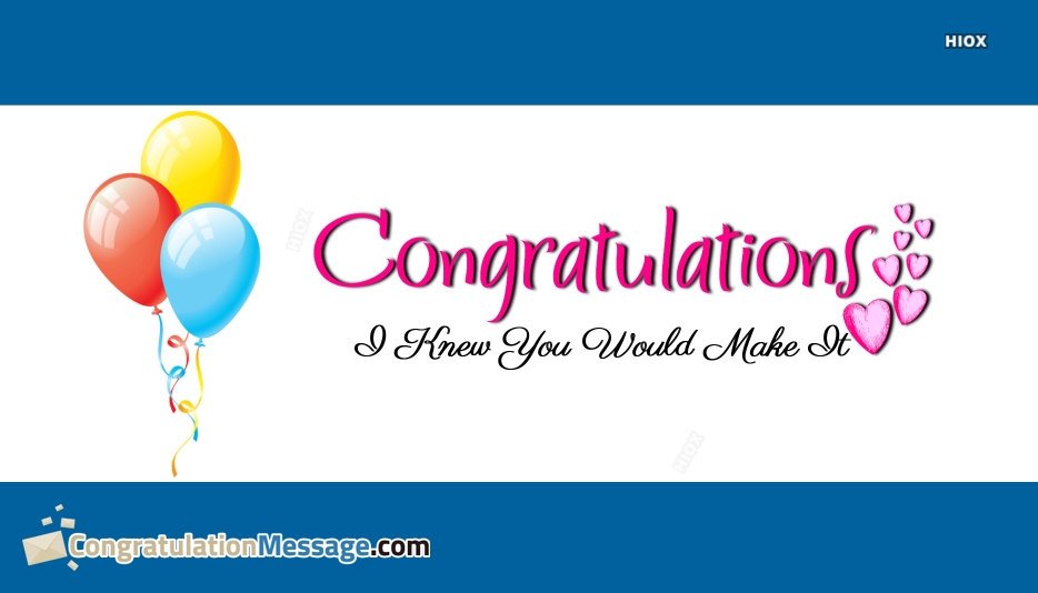 Congrats My Love Quotes