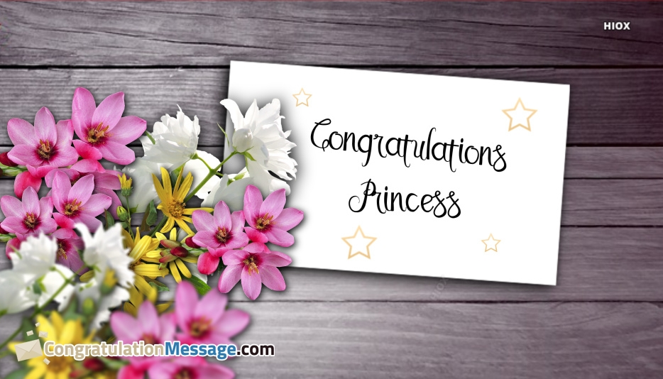 Congratulations My Princess Images