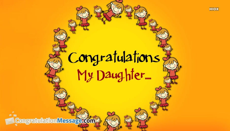 Congrats To My Daughter