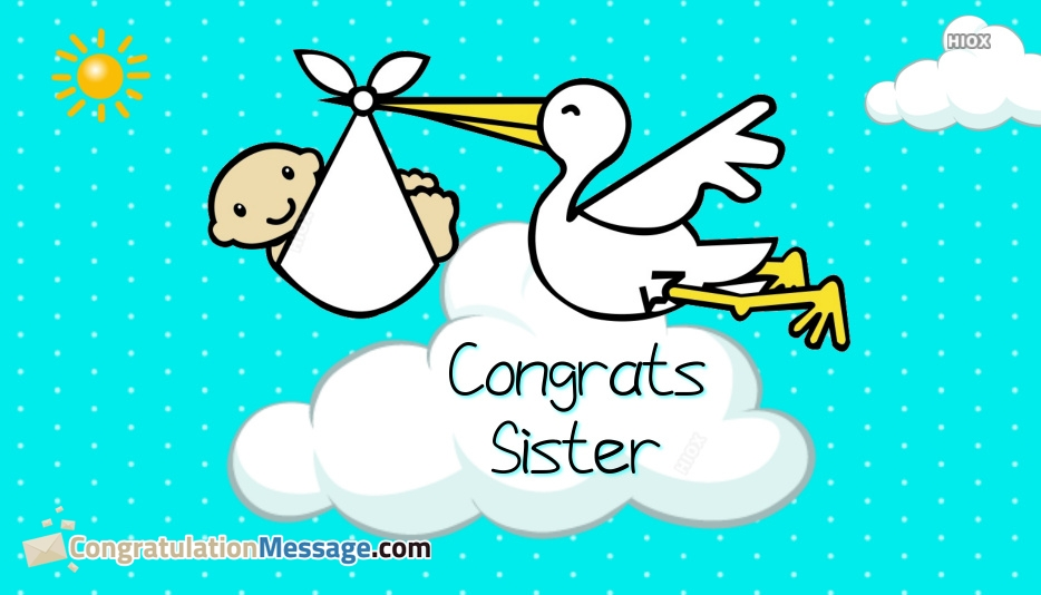 congratulations sister on your pregnancy