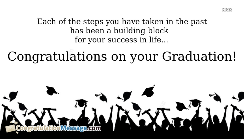 Congratulation Messages for Convocation