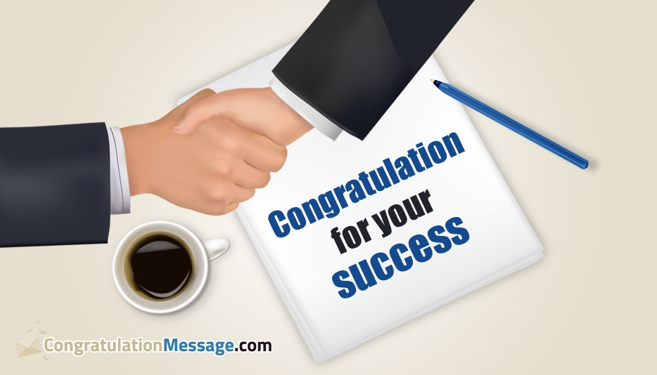 Congratulation Message for Success - Congratulation Messages for Job