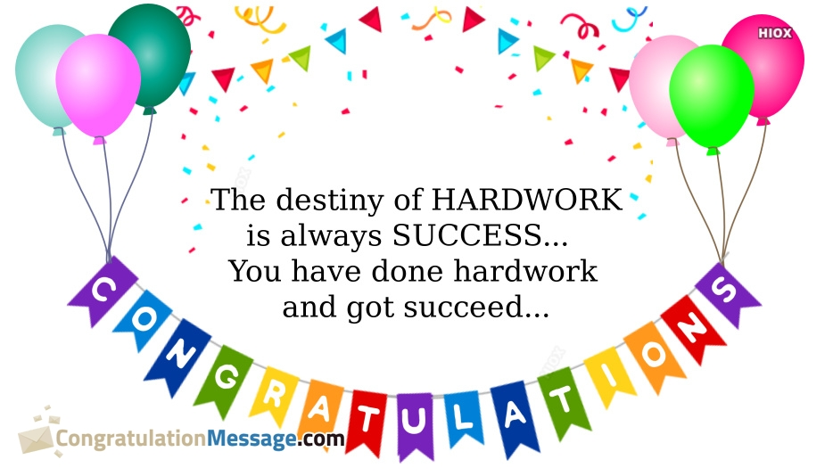 Inspirational Congratulation Messages, Quotes