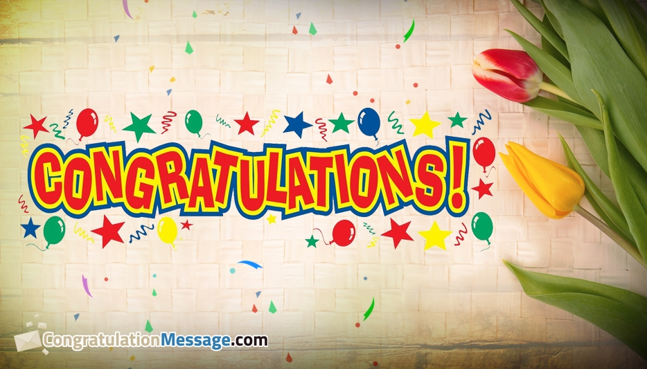 Congratulation Messages for Friends