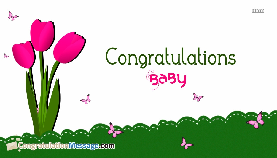 Congratulation Messages for Flowers