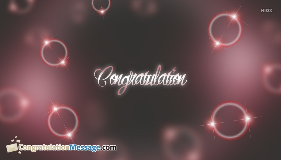 Congratulations Messages Free Download