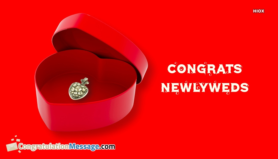 Congratulations Newlyweds Quotes