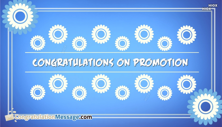 Congratulations On Promotion Images