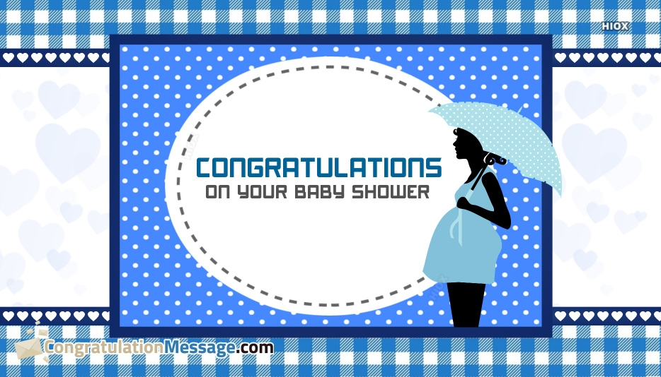 Congratulation Messages for Baby Shower