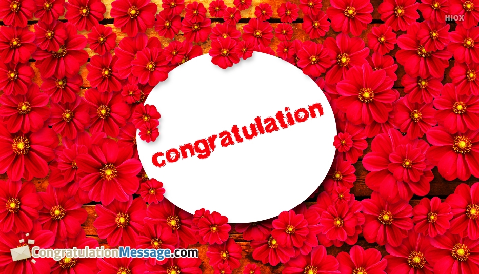 Congratulations Text Messages, Images