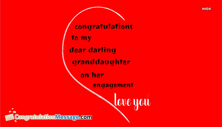 Congratulation Messages For Granddaughter