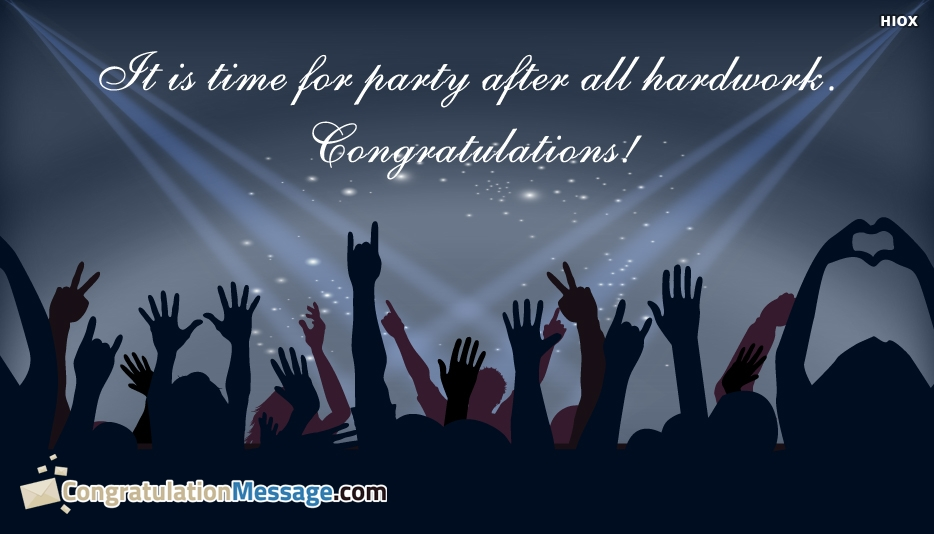 Congratulation Messages for Hard Work