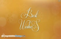 Best Wishes Wallpaper