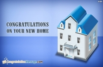 Congrats For Housewarming
