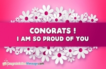 Congratulation Messages For Daughter