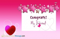 Congrats My Beloved