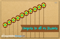 Congratulations For Passing Exam Messages