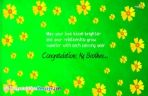 Wedding Congratulation Messages for Brother