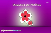 Congrats Wedding Quotes
