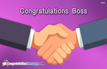 Congratulations images for boss