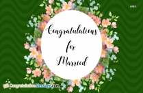 Hearty Congratulations On Your Marriage