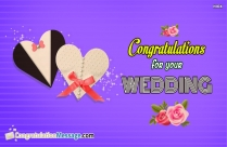 Congratulations Images for Your Wedding