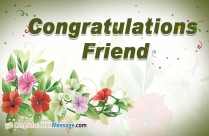 Congratulation Images for Friends