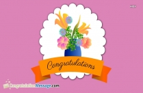 Congratulations For Beautiful