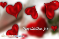 congratulations rose images for love