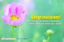 Congratulations! May This Day Be Another
