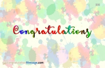 Congratulations Greetings Images