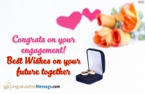 Congratulations Sister Engagement