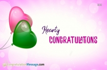 Hearty Congratulations Hd Images