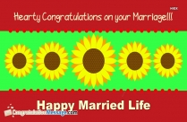 Congratulations Marriage