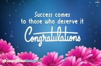 Congratulation Wishes For Students